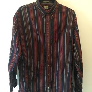COOL STRIPED VINTAGE BUTTON DOWN